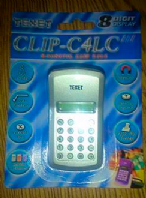 Clip on calculator (Code 2528)